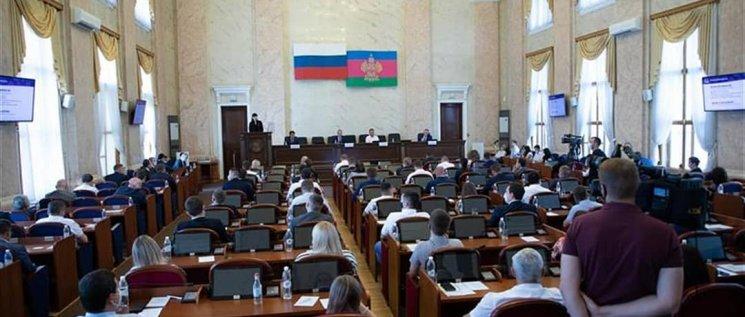 Олег Бойченко   принял участие в Общем собрании Совета молодых депутатов Краснодарского края.