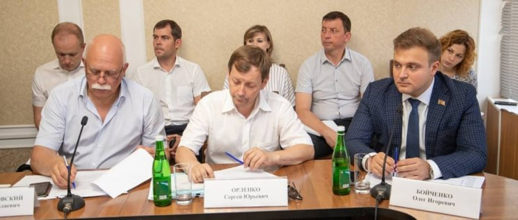 Олег Бойченко принял участие в заседании «круглого стола» о социально-экономическом развитии Кореновского района.