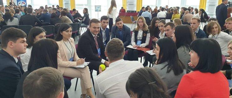 Олег Бойченко принял участие в качестве модератора в общекраевом форуме молодых и будущих организаторов выборов Краснодарского края.