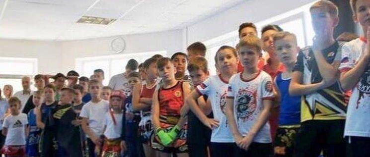 Олег Бойченко принял участие в открытии нового спортивного клуба в станице Новотитаровская.